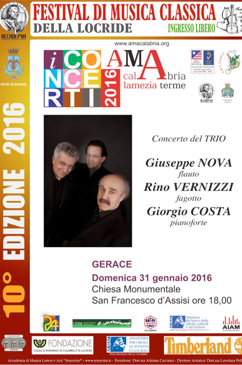 Gerace domenica alle 18 inizia il x festival di musica for Casa discografica musica classica
