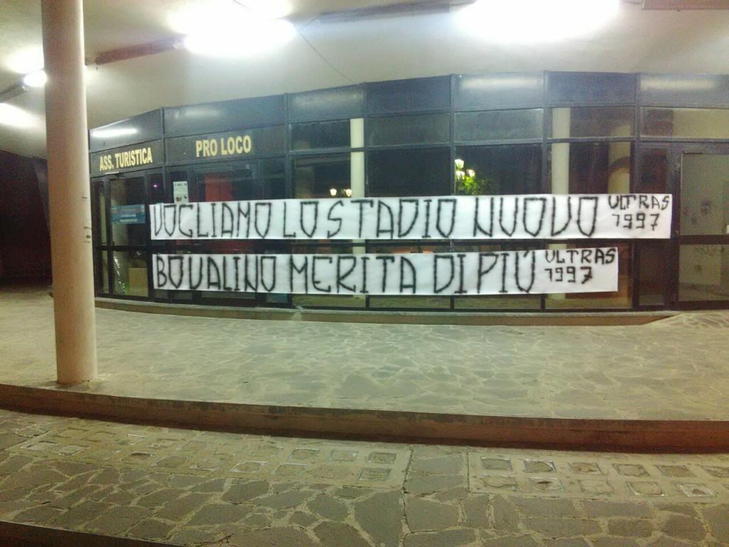 FOTO ULTRS STADIO BOVALINO