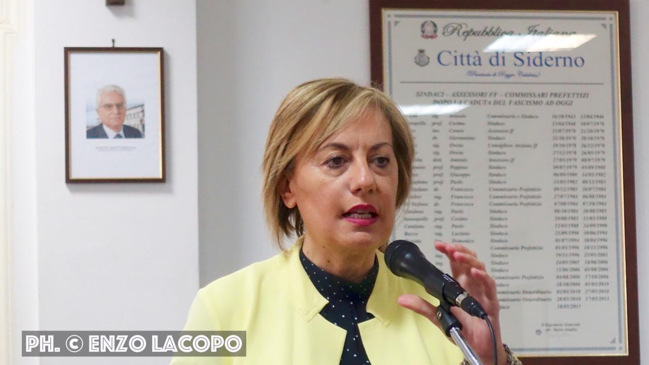Siderno ass. Antonietta Rizzo