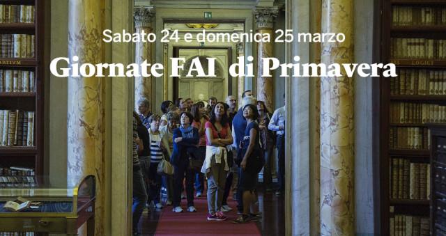 GIORNATE FAI DI PRIMAVERA Il 24 e il 25 marzo riflettori ...