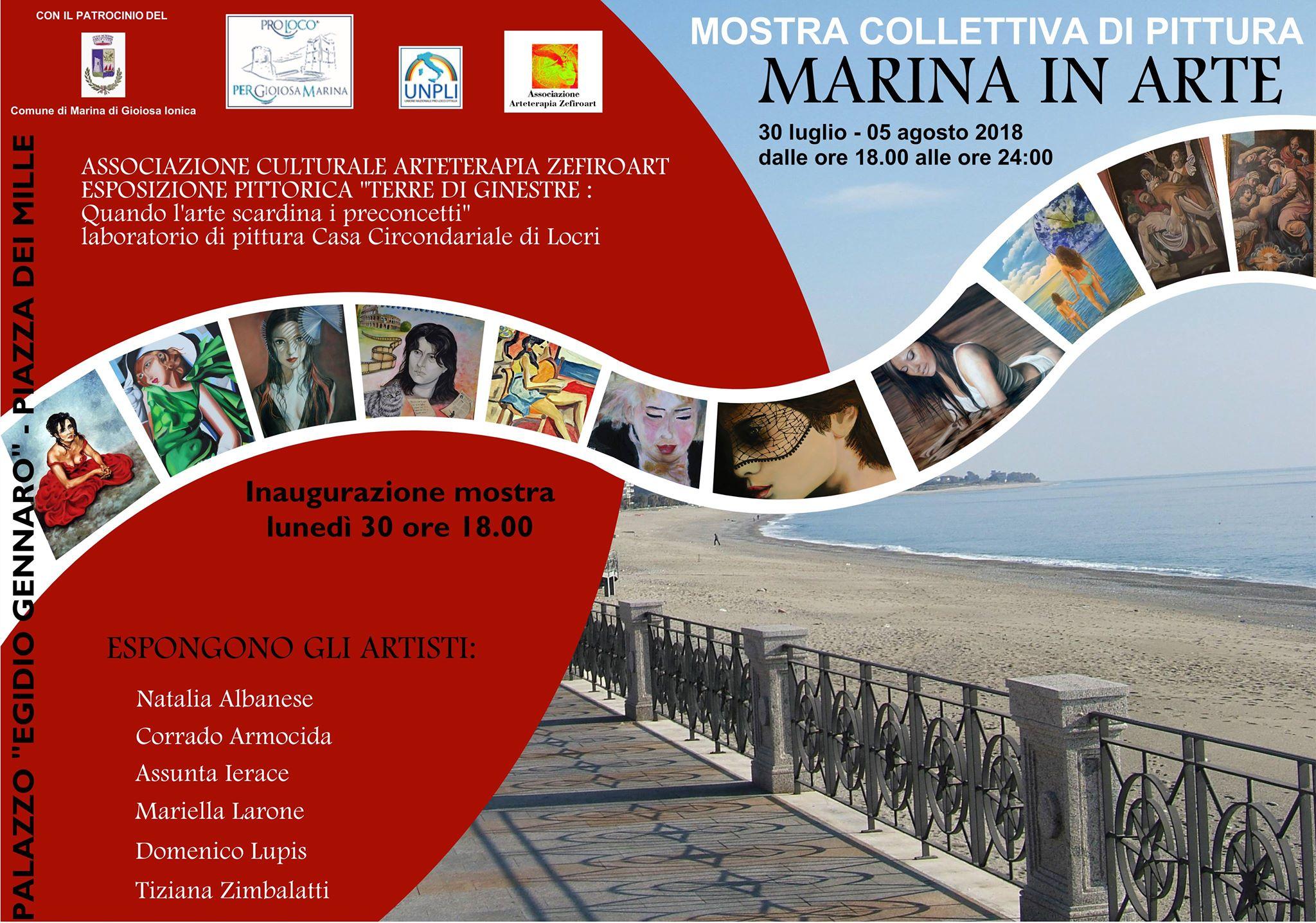 Marina in arte mostra di pittura dei detenuti della casa for Mostra della casa moderna udine