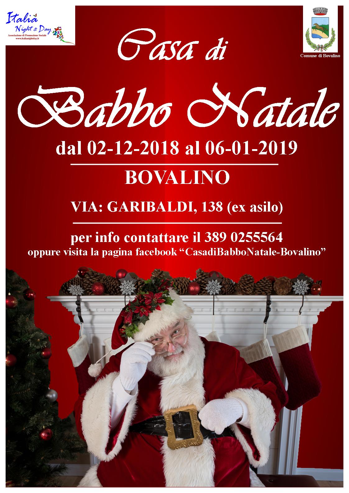 Casa Babbo Natale 2019.Bovalino Inaugurata La Casa Di Babbo Natale Lente Locale