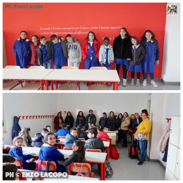 Monasterace inaugurazione scuola