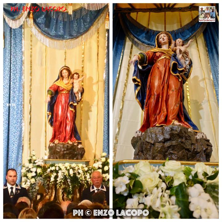 Statua Portosalvo restaurata