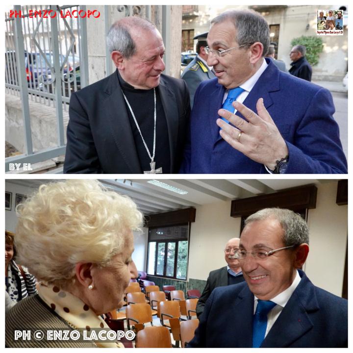 Saluto del vescovo al prefetto